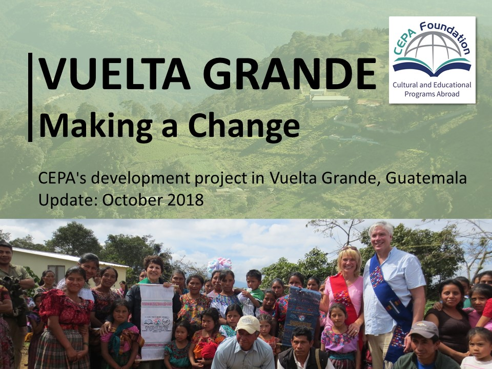 Guatemala Update Fall 2016